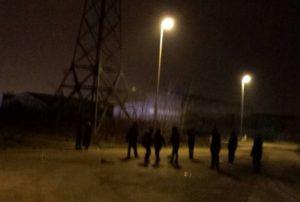 Jugendliche in Calais