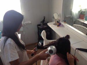 Der Beauty-Salon.