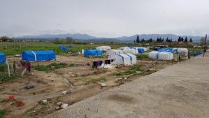 Einige Camps sind nun kleiner als noch an Silvester.
