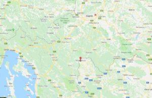 Velika Kladusa auf der Landkarte.