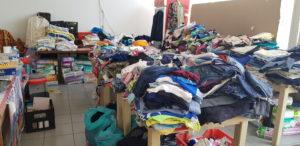 Kleiderspenden hat es bereits zahlreiche gegeben, die größte Not nach den Bränden ist behoben.